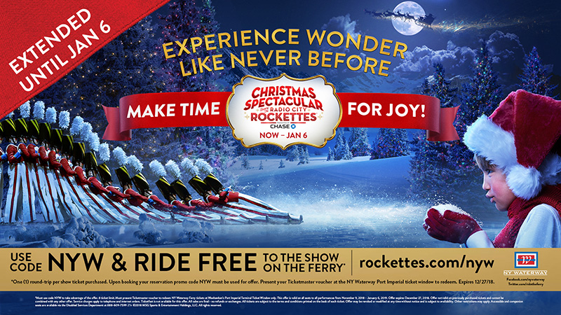 Rockettes Christmas 2019 Tickets Christmas Spectacular Starring the Radio City Rockettes