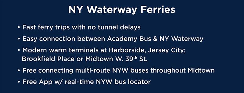 Cross River Combo - Bus & Ferry