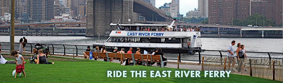 Use The East River Ferries To Get You to Manhattan